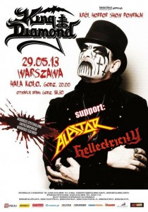 king diamond plakat