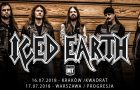 Iced Earth: znamy polskie supporty