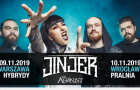 Jinjer: The Agonist w roli supportu