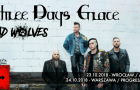 Three Days Grace: znamy support